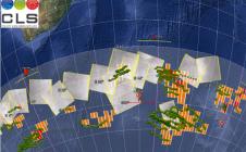 Tortues marines équipée d'une balise de localisation ARGOS